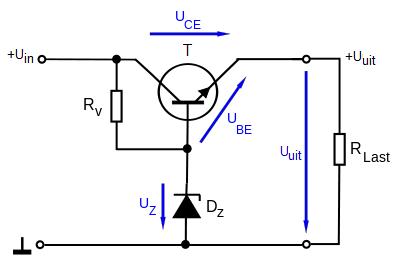 zenerdiode als spanningsbegrenzer  u2013 led verlichting watt